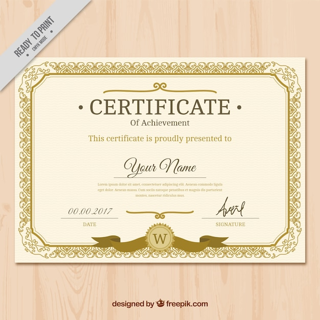 certificate vectors photos and psd files free download rh freepik com vector certificate border vector certificate free download
